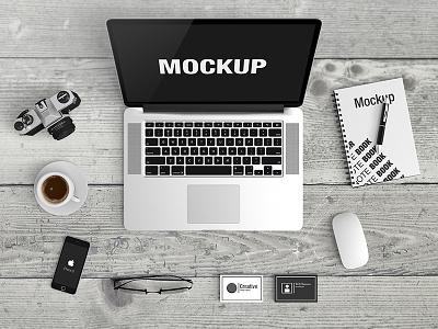 Macbook Scene Mockup macbook mockup web design mac iphone header osx apple uiux mock-up mockup scene macbook