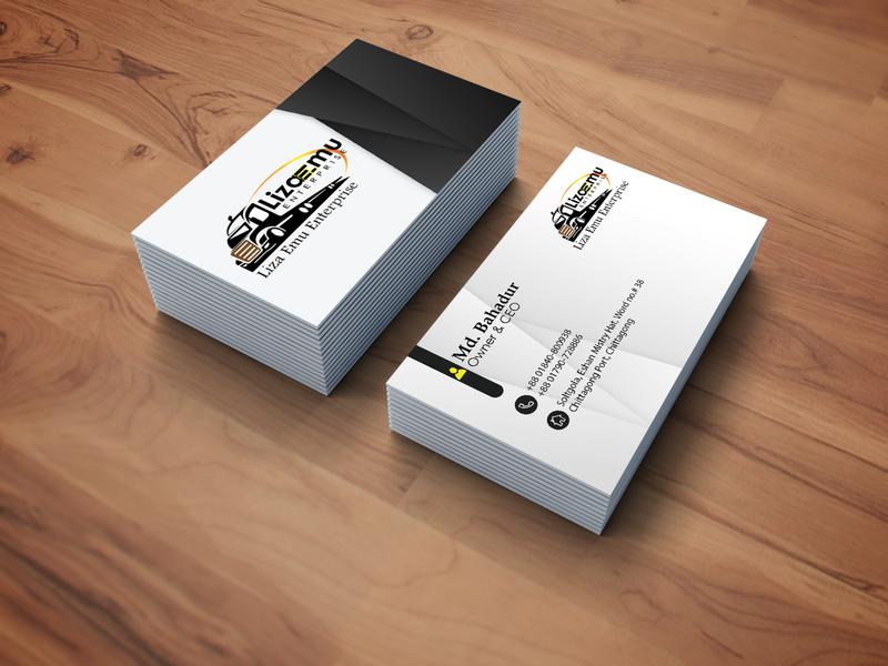 Professional Business Card Design business logo professional logo design illustration creative logo creative design graphics design business branding branding adobe illustrator adobe photoshop professional business card business card design business card