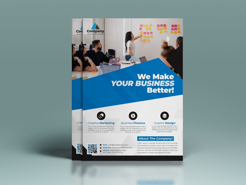 Corporate Flyer flat brand brochure brand design branding design brand identity flyer artwork flyers flat design flyer template corporate corporate flyer brochure design flyer design flyer design branding