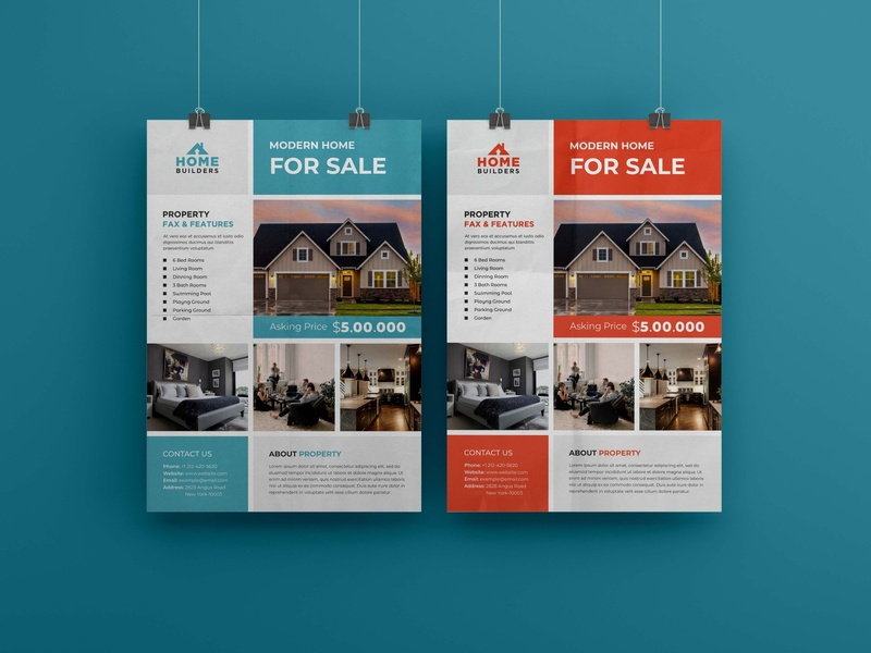 Professional real estate flyer corporate design flyers branding design flyer artwork flyer brand identity flyer design brochure brochure design corporate flyer