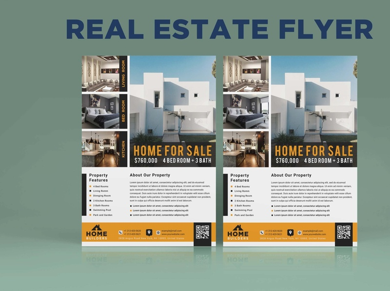 Real estate flyer design design corporate branding design flyers flyer artwork brand identity flyer design brochure brochure design corporate flyer