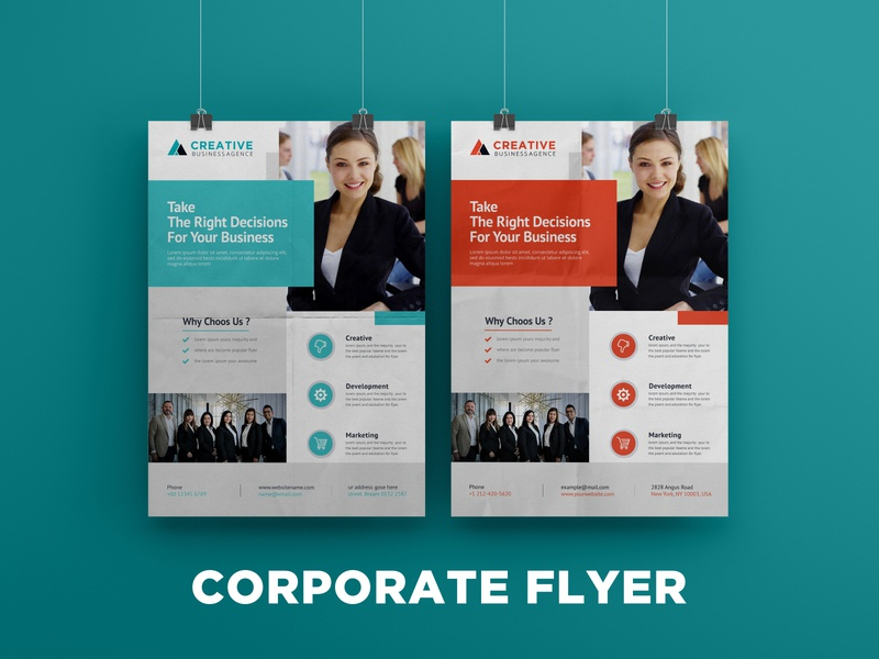 Modern corporate flyer template corporate branding design flyers flyer flyer artwork brand identity flyer design brochure corporate flyer brochure design