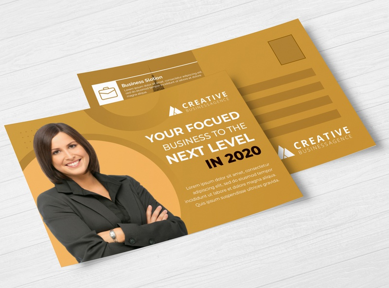 Marketing Postcard template dirct mail magazine eddm eddm postcard postcard postcard design marketing