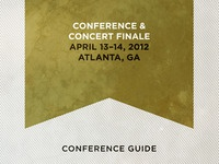 Man Up Conference Guide Booklet Preview