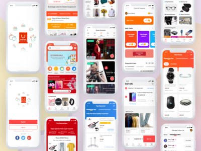 Super Shop App - A Modern Ecommerce App Design UI