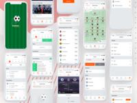 Gooal Football - Football Live Score App by Adobe Xd