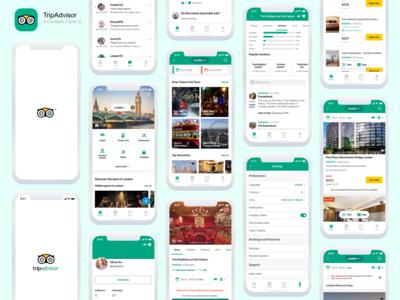 TripAdvisor - A Complete Clone UI