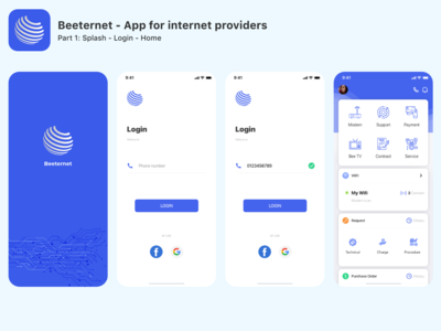 Beeternet - App for Internet Providers - Part 1