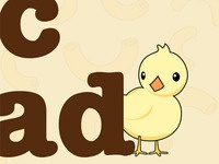Baby Chick Illustration