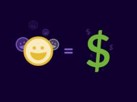 Happy Employee = Happy Shareholders = FUNNY MONEY
