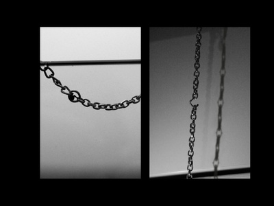 Loneliness: Chain Photos digital camera lonely loneliness photo manipulation global citizen global citizenship black and white photography black and white chains chain photography editing design adobe photoshop graphic design