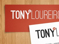 Tony Loureiro Business Card