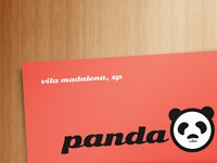 Panda Lux Business Card