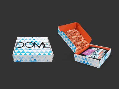 Festival Concept - Box festival branding indesign design