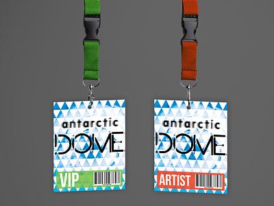 Festival Concept - Lanyards festival illustrator branding design