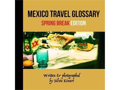 Mexico Travel Glossary (cover) book branding illustrator indesign design