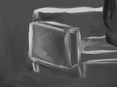 Digital Painting - Couch art digital painting paint painting artset ipad design
