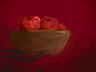 Digital Painting - Apples art design paint digital painting applepencil painting ipad