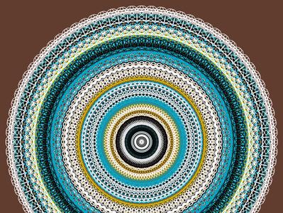 Spirality design graphic spiral mandala spirality