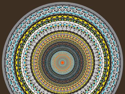 Spirality Graphic Art art design mandala spirality graphic