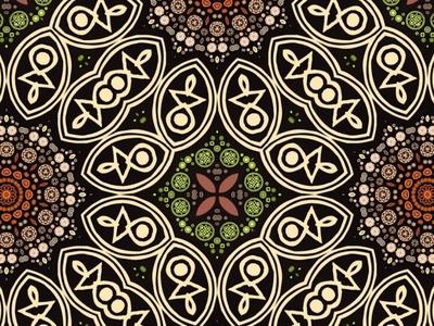ColorWonder art color farben graphic mandala design