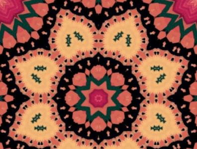 Graphic Design spirality mandala farben color art graphic design