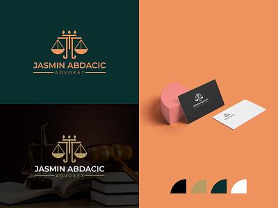 Attorney& Law logo ! advocte logo law firm logo design lawyer identity iconic creative modern justice attorney law