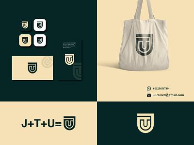 Monogram Logo Design! flat elegant minimal vector symbol creative wordmark logo logo design graphic design illustration iconic identity branding modern logotye lettermark logo monograme logo t logo u logo j logo