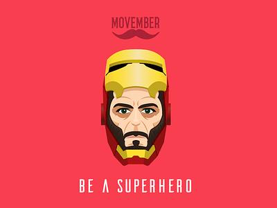 No Shave Tony Stark the avengers movember no shave november superhero captain america beard noshavenovember
