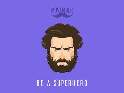No Shave Logan noshavenovember beard america captain superhero november shave no movember the avengers