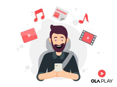 Ola Play Walkthrough Screens