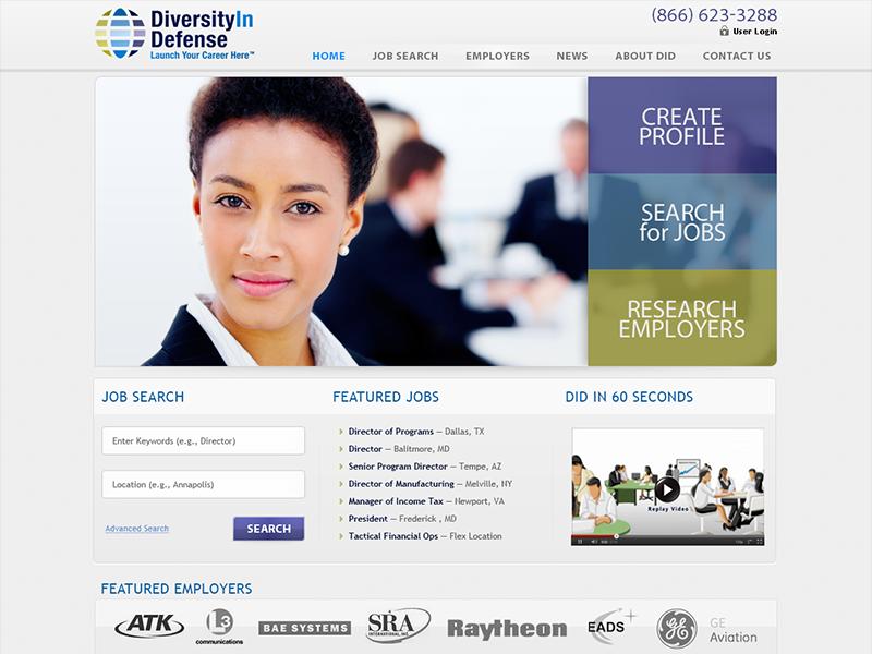 Diversityindefense design interface web site layout minimal