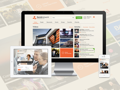 Metro Style - Complete Social Network Website