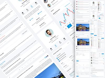 All Widgets social network stock widgets retina ui kit website design side bar news widget profile widget ux ui controls