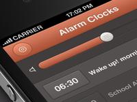 Alarm Clock iPhone App