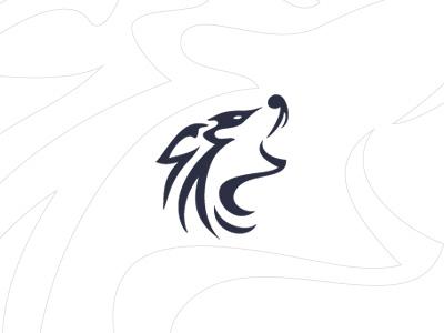 Logo Design logo design logo design wolf creative website design howling vector freebie freelance designer development
