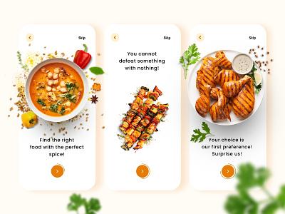 Grilled Dreams - UI for a food store ui  ux uiux uidesign ui design ux ui illustration graphicdesign designer design art design creative