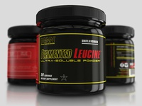 """MAN Sports Nutrition"" Photorealistic Product Mockups"
