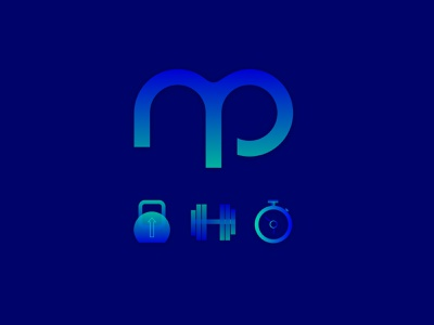 Brand for Personal Trainer gym fitness personal trainer trainer logo web design illustration minimalistic art design branding
