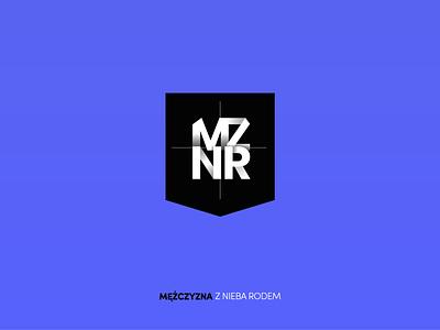 Logo for MZNR logo design logotype typography design art minimalistic web branding website vector logo