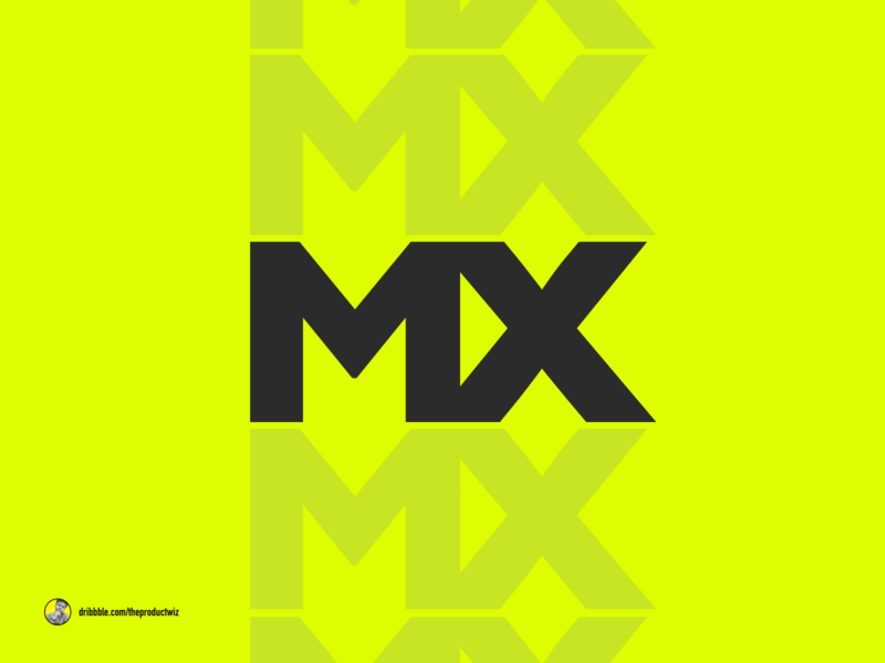 DESIGN TO THE MX creativity type art letterform logitech design to the max mx playoff typography illustration logo design branding