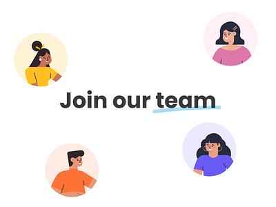 Join the Lido team! hiring platform design team recruiting hiring elearning school education animation ux design ui vector study illustration