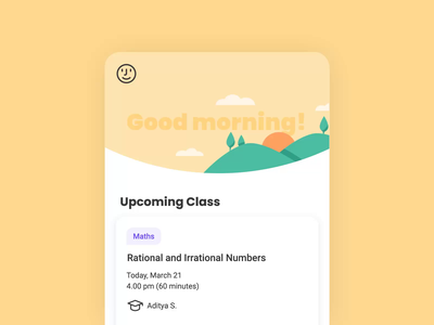 Day Night Transition banner product moon sun homepage greeting night motion design motion elearning animation school 2d learn education design ui vector study illustration
