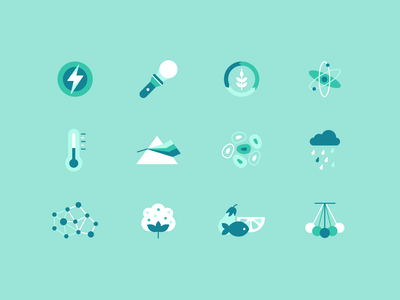 Science Spot Illustrations ui color education design graphic iconset icons lesson product cirriculum chapters student elearning learn science illustrator 2d vector study illustration