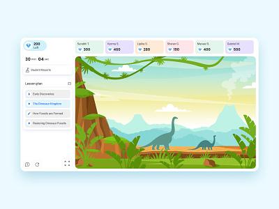 Lido's Live Class live class online interactive ui uiux vector color uidesign design product study elearning learn school 2d education subject productdesign platform