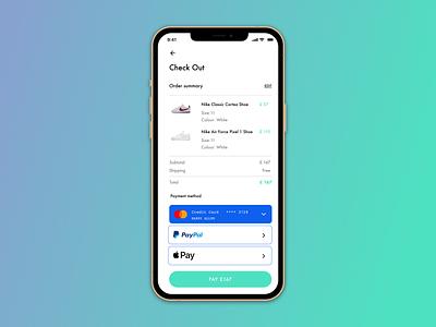 Daily UI #002 - Checkout form design dailyui ux ui