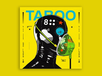 social taboo coronavirus mask cyberpunk digitalart illustration tuanmulo