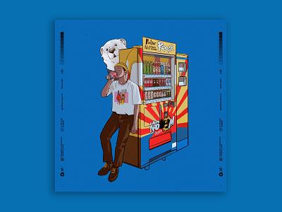 vm fashion vending machine characterdesign digitalart illustration tuanmulo