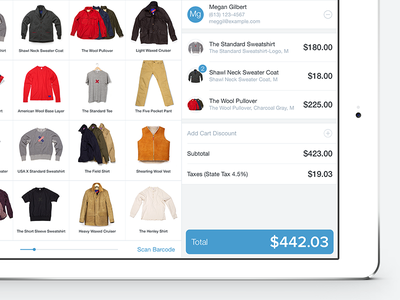 Shopify POS Inventory redesign shopify pos ipad inventory product photos ios7