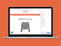 Introducing Storefront Editor shopify sidebar preview viewport online store